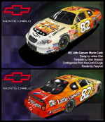 Jaster D'an's cars for NASCAR Racing 2003 Season Game by Papyrus